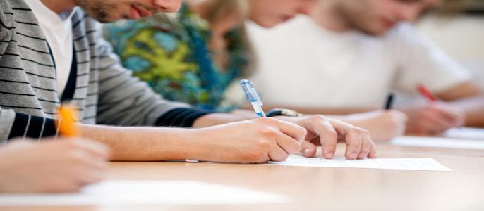 Students-in-exam